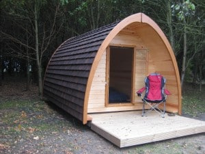 Camping Pods on our Lincolnshire campsite