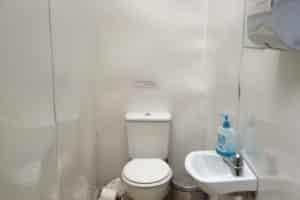 Campsite toilet